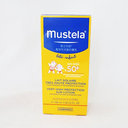 【敵富朗超巿】Mustela慕之恬廊高效性SPF50+兒童防曬乳100ml