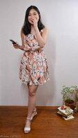 時尚洋裝 小禮服推薦到精選今夏最流行韓式甜美花棉麻洋裝【ICEME choice】