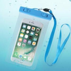 美麗大街【BF535E12】三星note蘋果7plus加大號手機防水袋