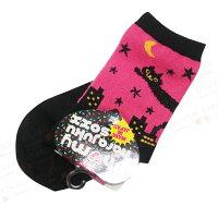 愚人節 KUSO療癒整人玩具周邊商品推薦【銀站】日本Oh my harajuku soxx 飛天夜貓造型襪