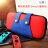 送保護貼 Switch 充電收納組合 全套收納包 NS 硬殼 四合一充電座 任天堂 動物森友會 『無名』 N02107 7