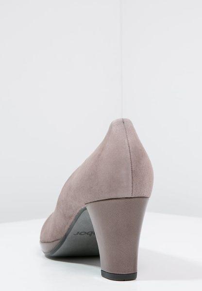 Gabor 麂皮素面優雅跟鞋 4