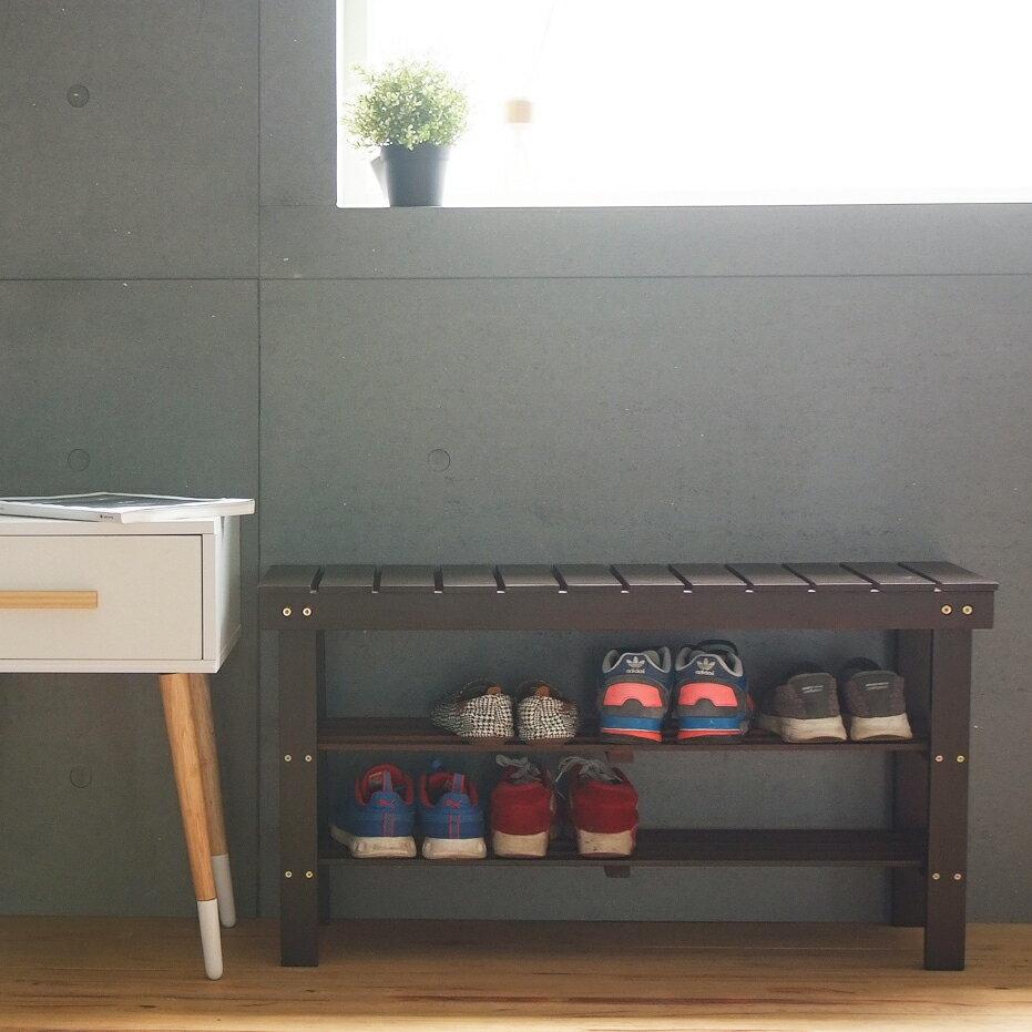 鞋櫃 / 鞋架 / 置物櫃 實木休閒穿鞋椅(3色) MIT台灣製 現領優惠券 完美主義【Q0048】好窩生活節 4