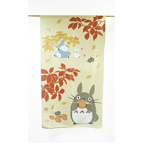 【真愛日本】16030400062日本製四季門簾秋II-紅葉森林   龍貓TOTORO豆豆龍 居家用品 長門簾 日本製