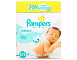 Pampers Sensitive Wipes - 576 Count