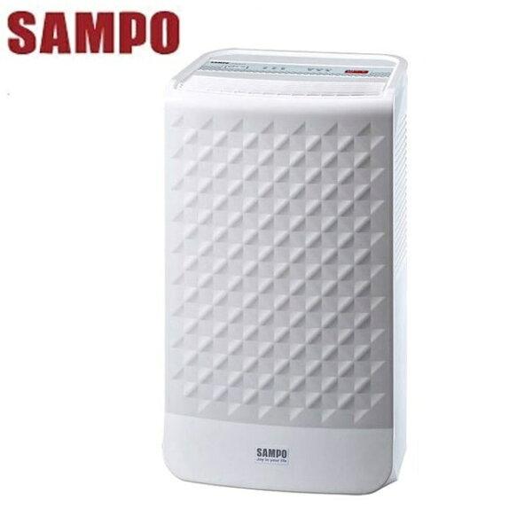 ★贈電拍王KEM-005B(2入)★『SAMPO』☆聲寶微電腦空氣清淨除濕機AD-BD121FT**免運費**