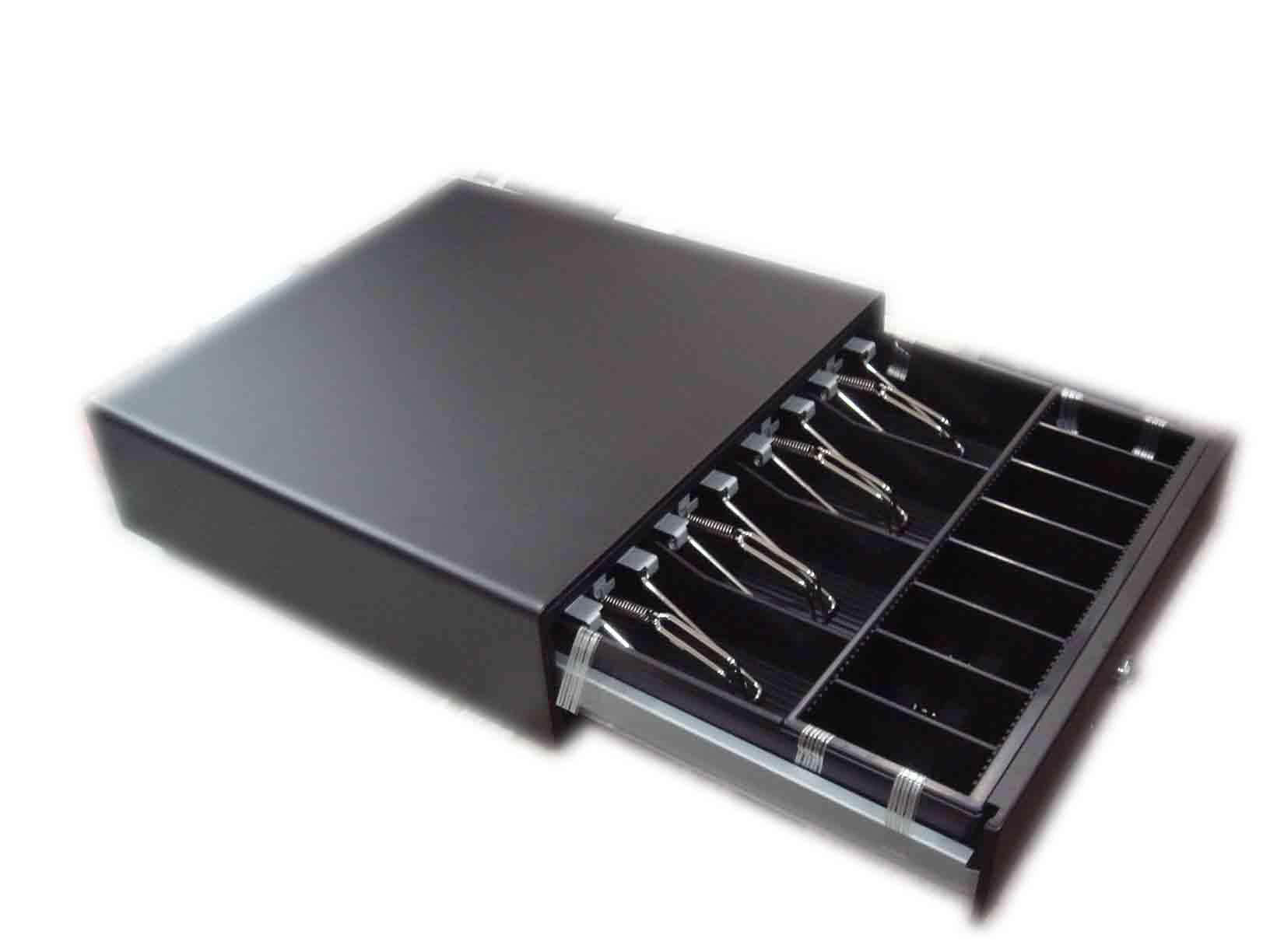 【福利品-展示機】鐵製錢櫃~POS錢櫃~收銀/收據機錢櫃~電子錢箱