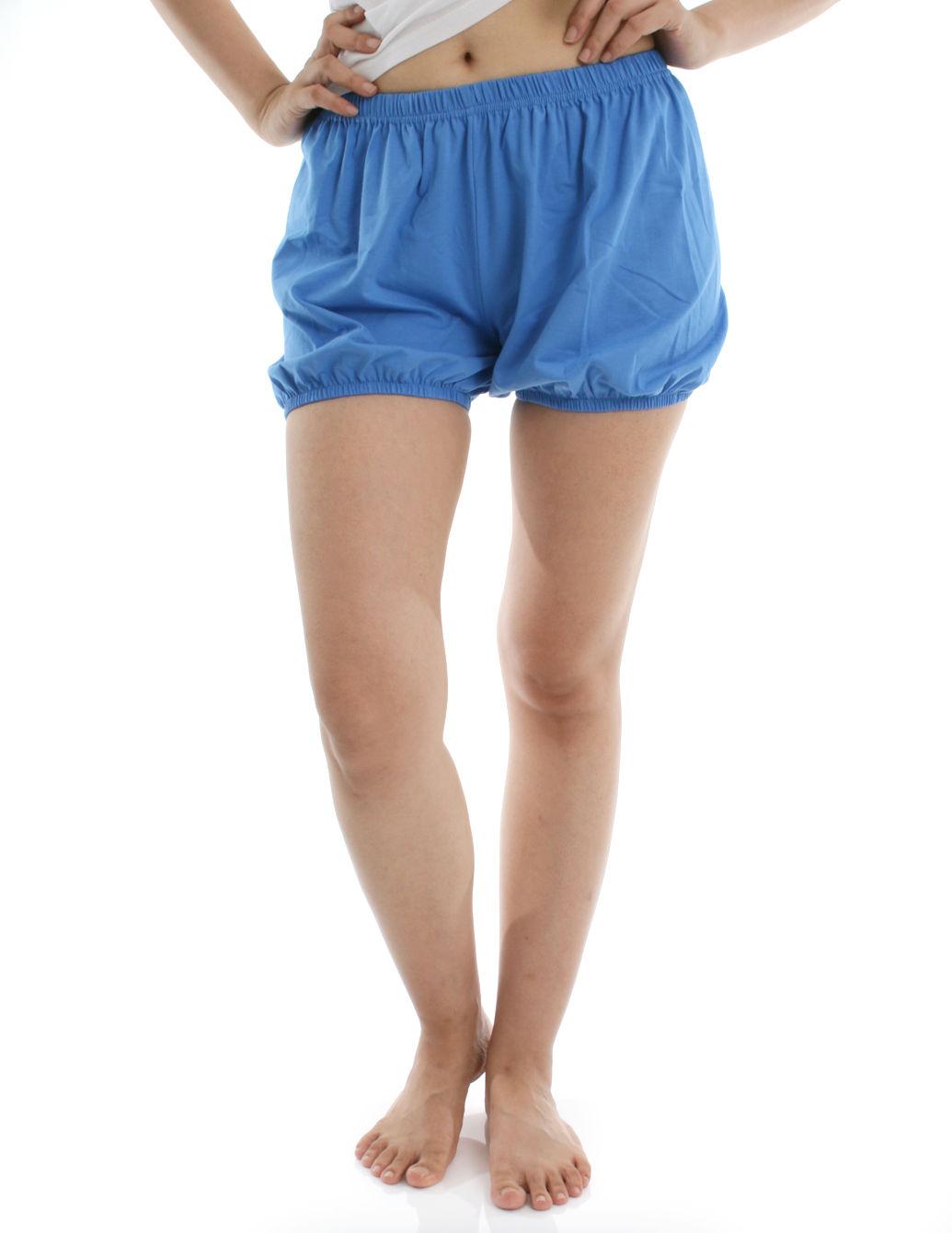 360度全方位防走光! RTBU瑜珈褲~燈籠褲造型。道奇藍