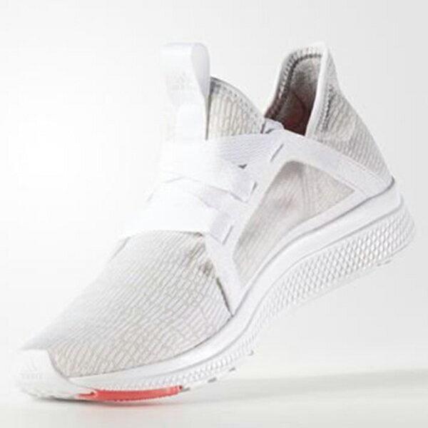 AdidasEDGELUX女鞋慢跑輕量透氣灰白【運動世界】AQ3471