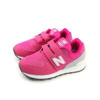 New Balance 美國慢跑鞋/跑步鞋推薦New Balance 574系列 運動鞋 跑鞋 魔鬼氈 桃紅色 童鞋 YV574D6 no361