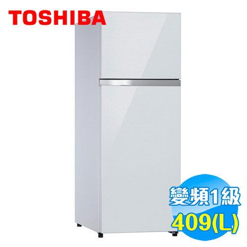 Toshiba 東芝 409公升 雙門鏡面變頻冰箱 GR-TG46TDZ