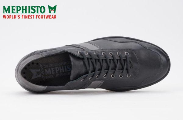Mephisto 法國工藝皮革休閒鞋 黑 5