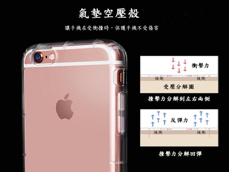 防摔手機殼保護殼保護套空壓殼 適用滿版玻璃貼 iPhone 7 Plus i7 i6s 6 Plus