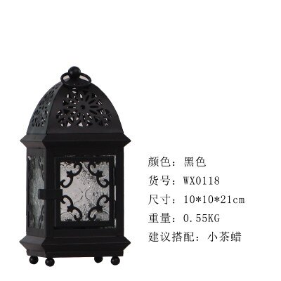 創意燭台擺件 蠟燭台復古鐵藝家用裝飾燭台擺件北歐浪漫燭光晚餐道具『MY6869』