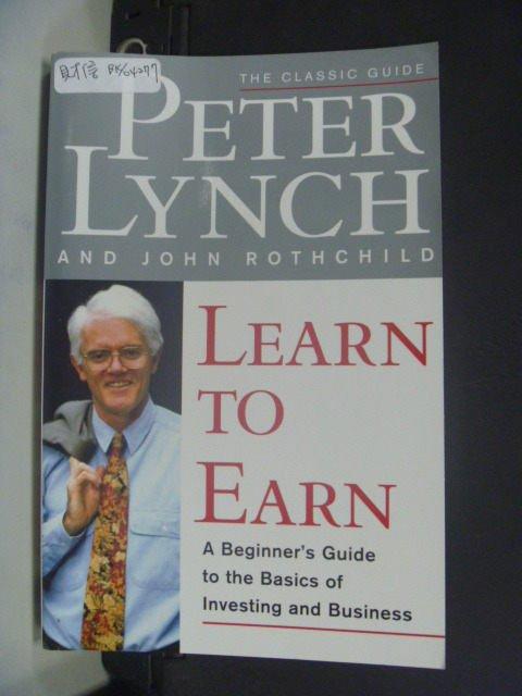 ~書寶 書T8/財經企管_JIC~Learn to Earn: A Beginner ^#