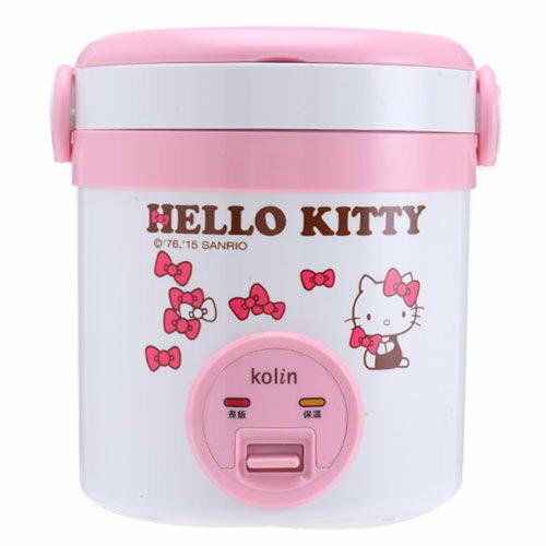 【真愛日本】15040800002 歌林KT一人份電子鍋 Hello Kitty 凱蒂貓 廚具 正品 限量