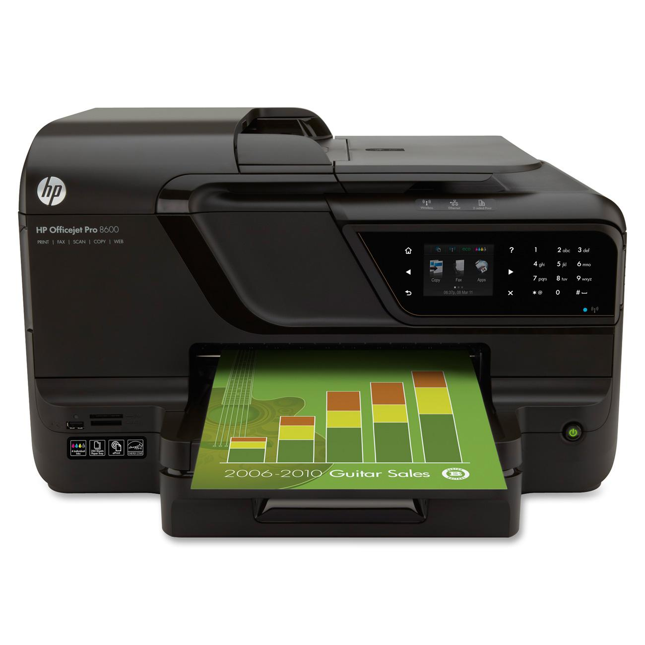 HP Officejet Pro 8600 Inkjet e-All-in-One Printer 0