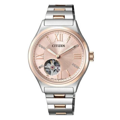 CITIZEN 星辰錶 PC1009-51W 時尚機械錶