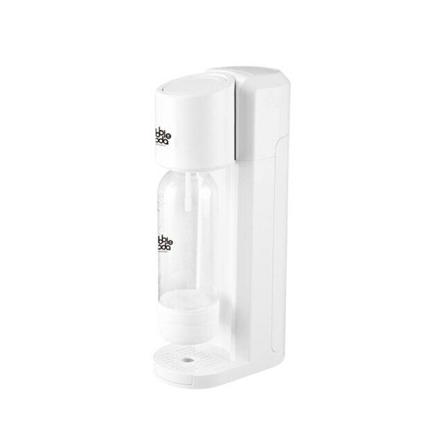 ★加贈★《法國Bubble Soda》免插電經典粉旺氣泡水機(白色) BS-190W