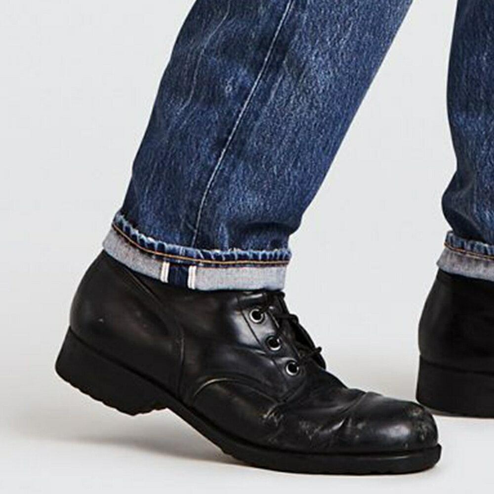 Levis 男款 511 低腰修身窄管牛仔褲  /  赤耳  /  微破壞  /  直向彈性延展  /  復古水洗 M 7