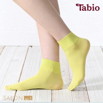 靴下屋Tabio 糖果色防臭40D短襪 / 絲襪材質短襪