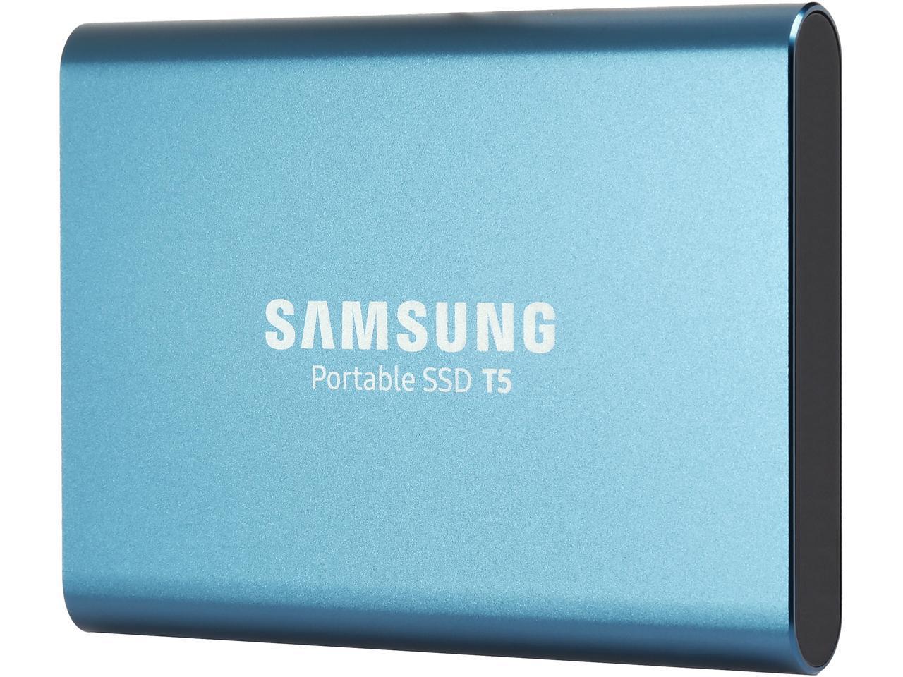 "Samsung T5 Portable 250GB SSD 2.5"" USB 3.1 V-NAND External Solid State Drive MU-PA250B"