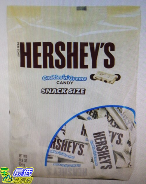 [COSCO代購]  W37666 Hershey's 白巧克力脆片 904 公克(8入裝)