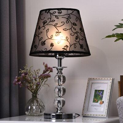 觸摸感應燈 臺燈臥室創意粉色浪漫歐式現代簡約觸摸感應可調光家用溫馨床頭燈 『MY6575』