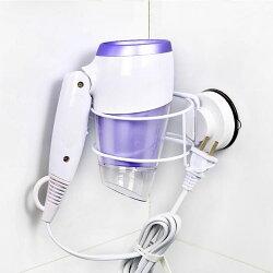 置物架 衛生間放吹風機的架子 韓國deHub真空吸盤壁掛式電吹風筒掛支架【韓國時尚週】