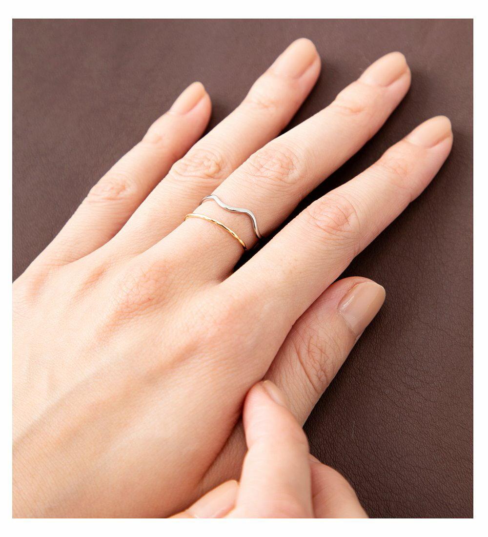 日本CREAM DOT  /  優雅細環不規則戒指  /  a03646  /  日本必買 日本樂天直送(1190) 6