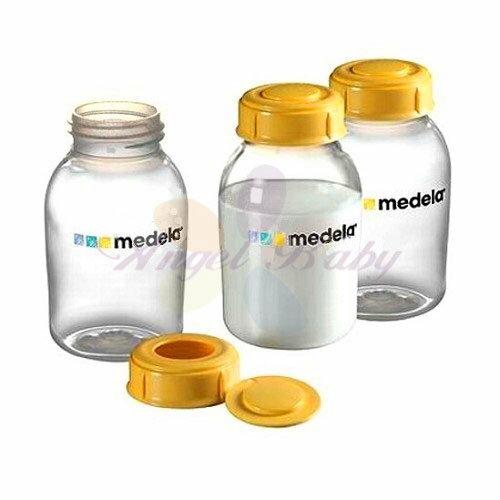 瑞士【Medela 美樂】印花貯奶瓶組150ml (3入)