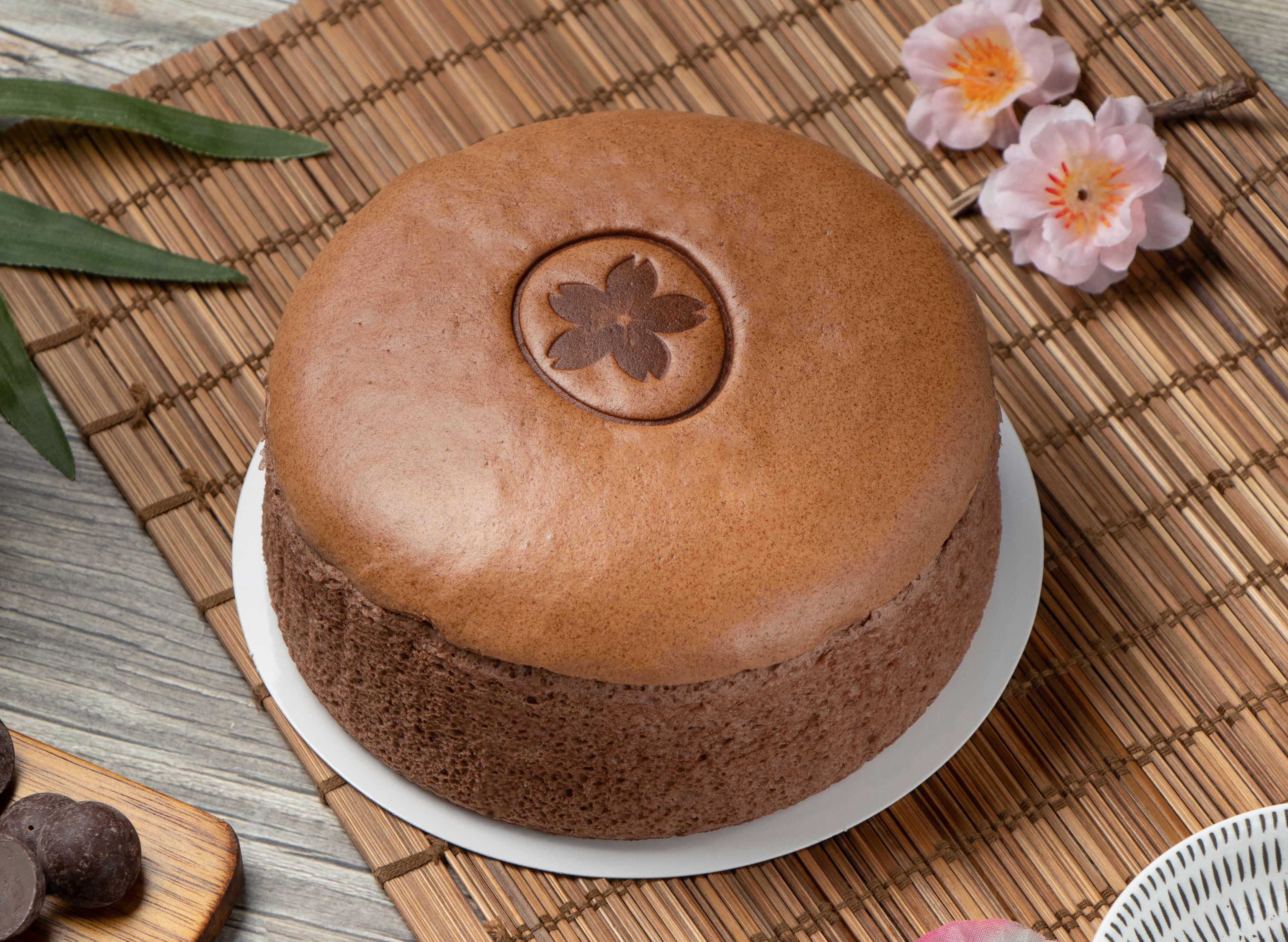 幸福屋-日式輕乳酪蛋糕 牛奶巧克力  6吋 伴手禮~彌月蛋糕~團購美食~
