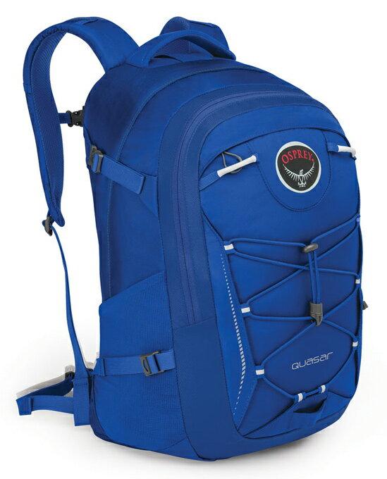 【鄉野情戶外用品店】 Osprey |美國| QUASAR 28 電腦背包《男款》/15吋筆電背包 城市背包 旅行背包 -明亮藍/Quasar28 【容量28L】