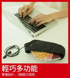 Travelmall 多用途RFID 防盜設計智能腰包 #旅行用 / 腰包 / 貼身包 / 防盜包 1
