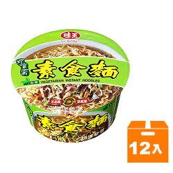 味王 巧食齋 素食麵 83g (12碗入)/箱