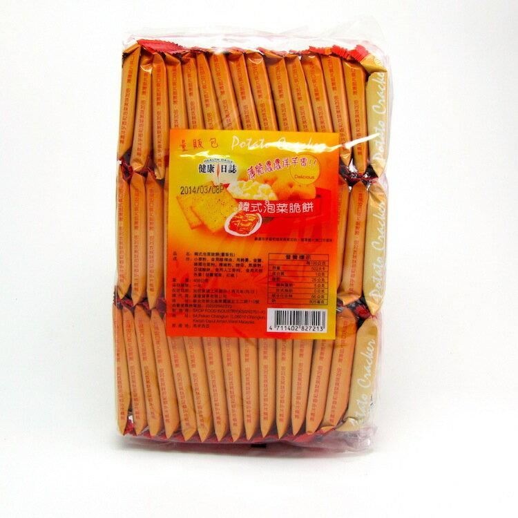 【橘町五丁目】健康日誌洋芋脆餅-韓式泡菜脆餅