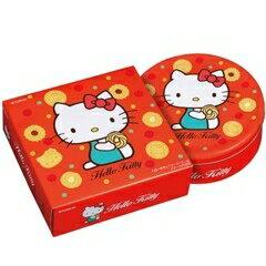 【橘町五丁目】限量促銷! 北日本BOURBON Hello Kitty 餅乾禮盒-附贈提袋!