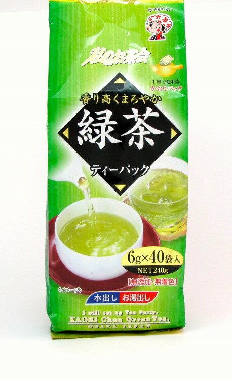 【橘町五丁目】宇治森德綠茶煎茶包袋裝6g*40p