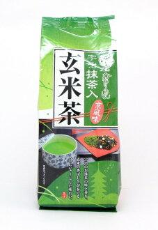 【橘町五丁目】宇治森德抹茶入玄米茶-京風味200g