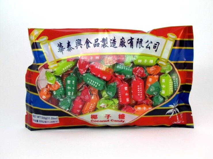 【橘町五丁目】 懷念的好滋味! 香港華泰興椰子糖