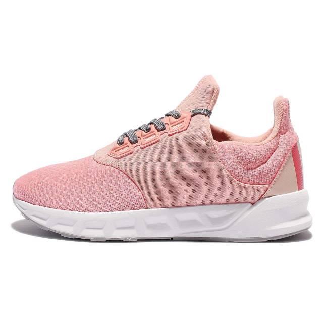 ADIDAS HOMBRE RUNNING FALCON ELITE 5 M 女鞋 慢跑 休閒 輕量 網布 透氣 舒適 粉 【運動世界】 BB4409