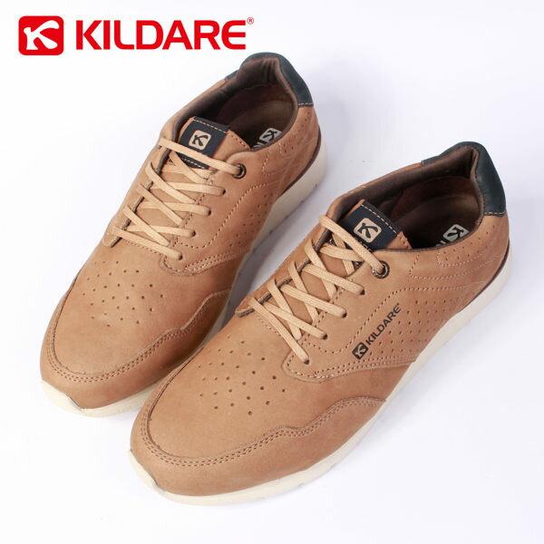 【全店點數15倍送】Kildare 巴西綁帶休閒鞋 淺棕 男 慢跑 0