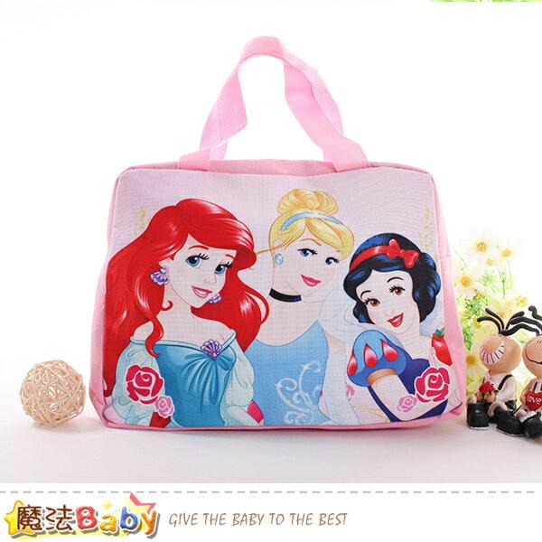 便當袋迪士尼公主授權正版手提袋魔法Baby~f0286