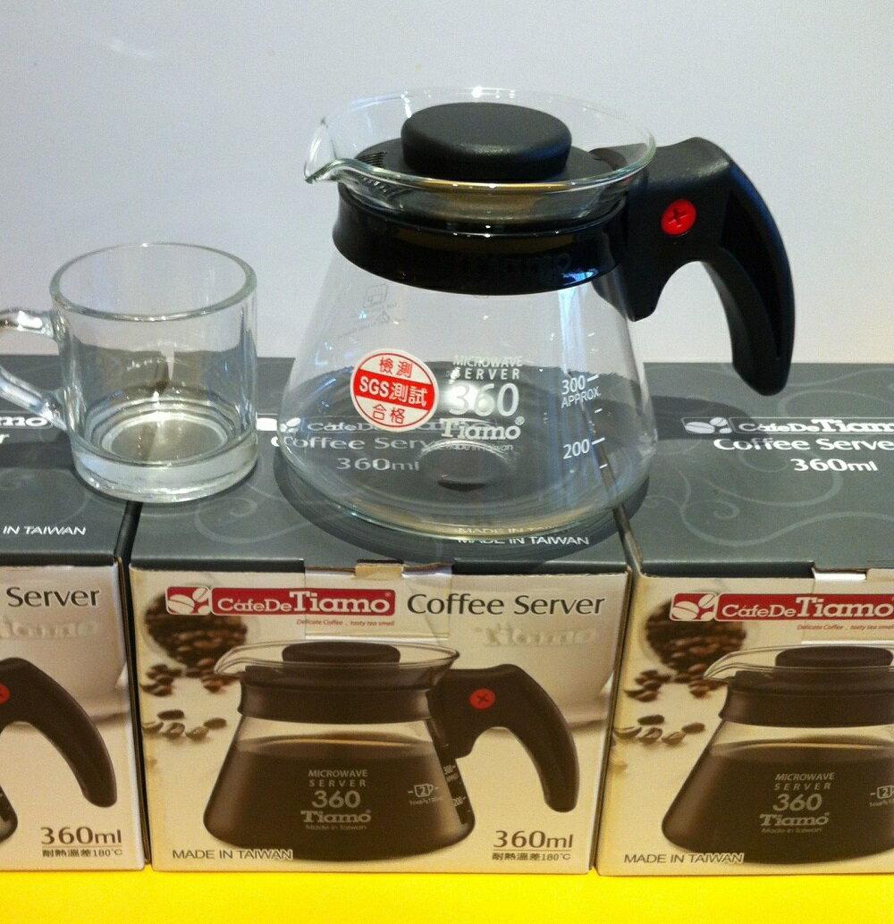 【摩集客咖啡】玻璃耐熱壺 / 360cc