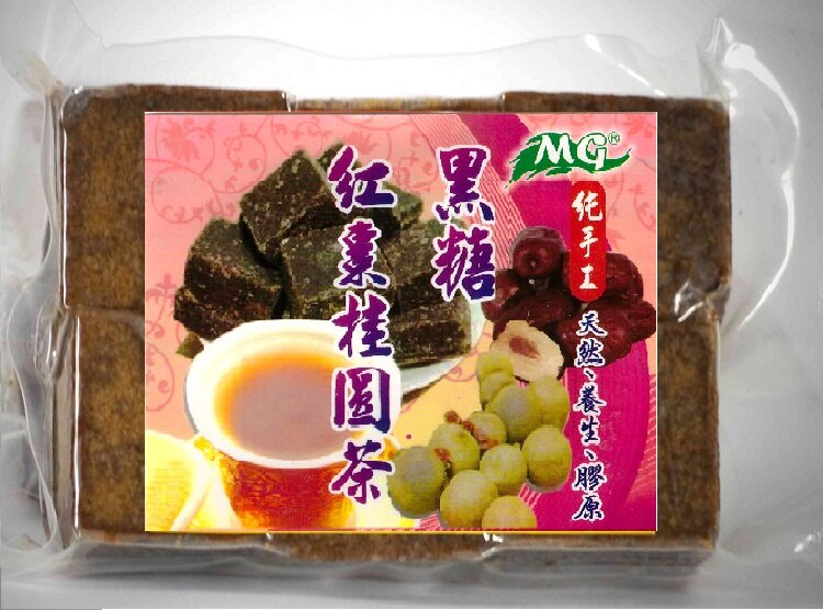 【清新自在樂活生機館】黑糖桂圓紅棗茶/包-280g