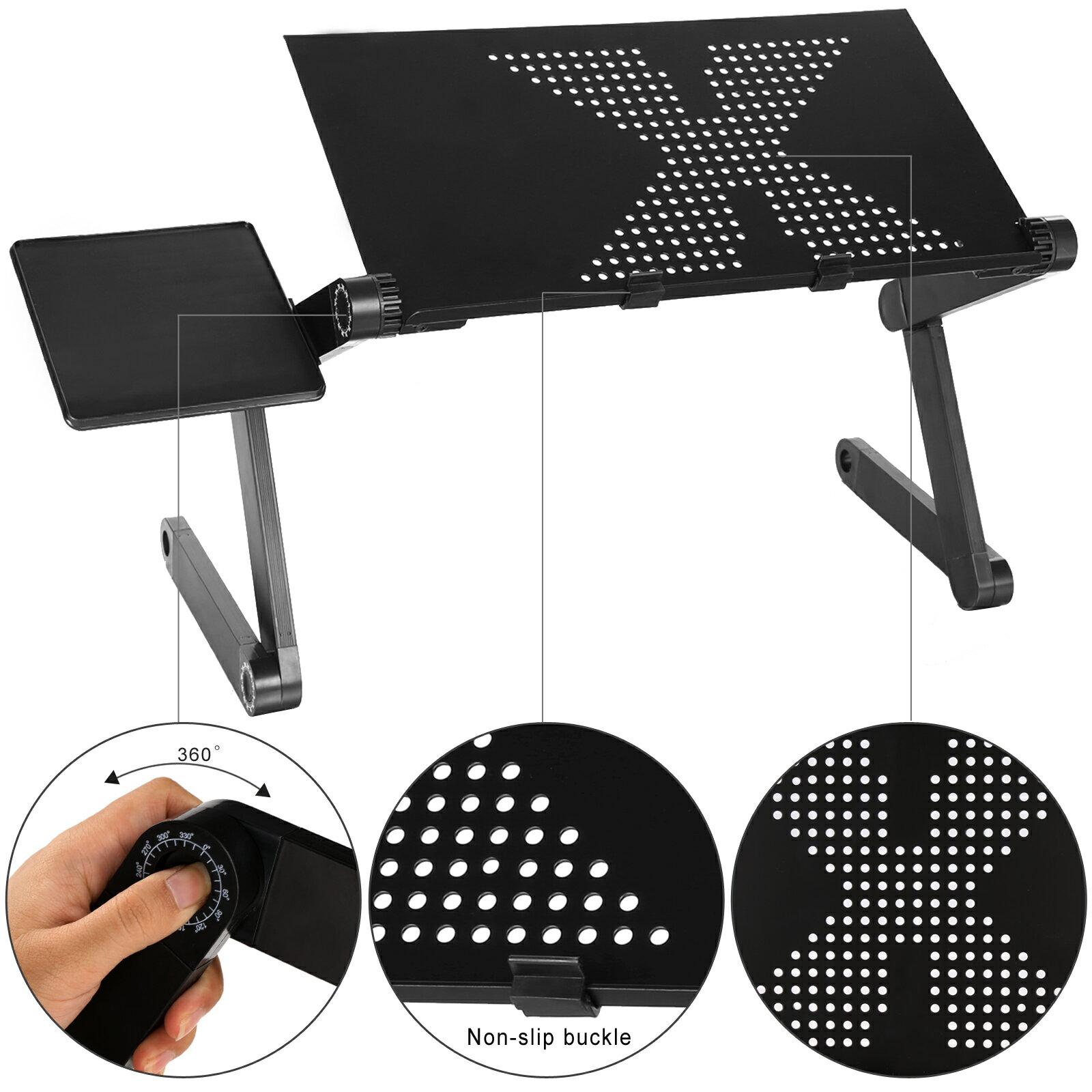 360 Degree Adjustable Foldable Laptop Notebook Desk Table 2