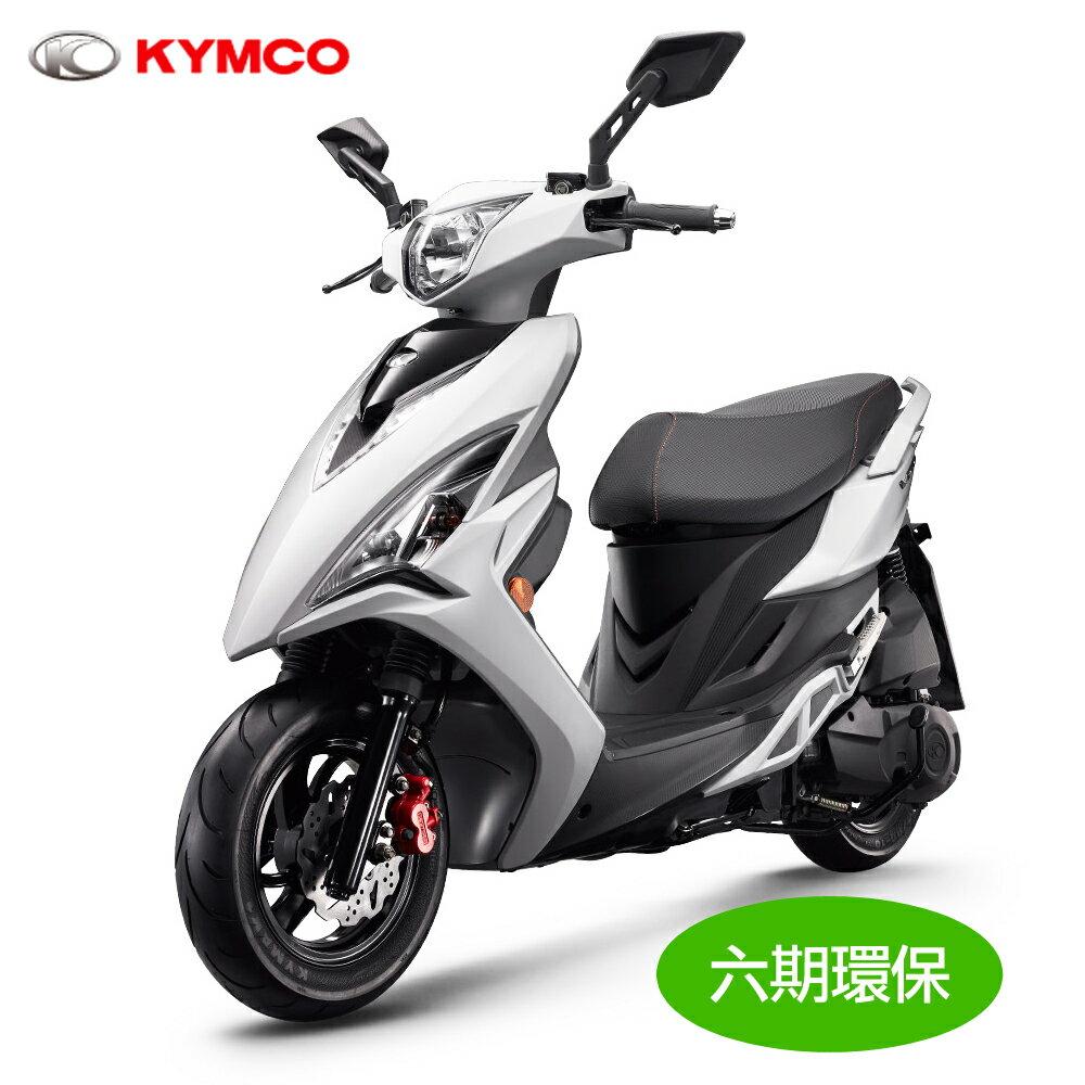 【KYMCO光陽】VJR 125 雙碟(2017年新車) SE24AF(可申退貨物稅4000汰舊換新)