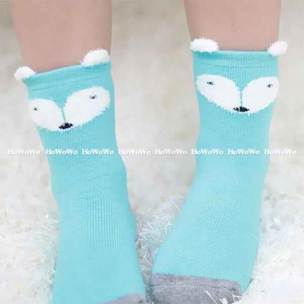 加厚款寶寶襪 立體卡通防滑短襪 嬰兒襪 童襪(0-4歲) CA1197 好娃娃