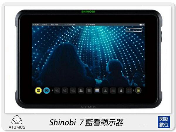【銀行刷卡金+樂天點數回饋】現貨! Atomos Shinobi 7 7吋 監看顯示器 外接螢幕(公司貨)SDI / HDMI