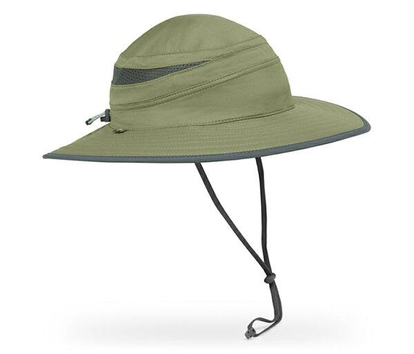 ├登山樂┤美國SundayAfternoons女抗UV防曬輕量透氣圓盤帽-橄欖綠灰#SAS2C02261B-727